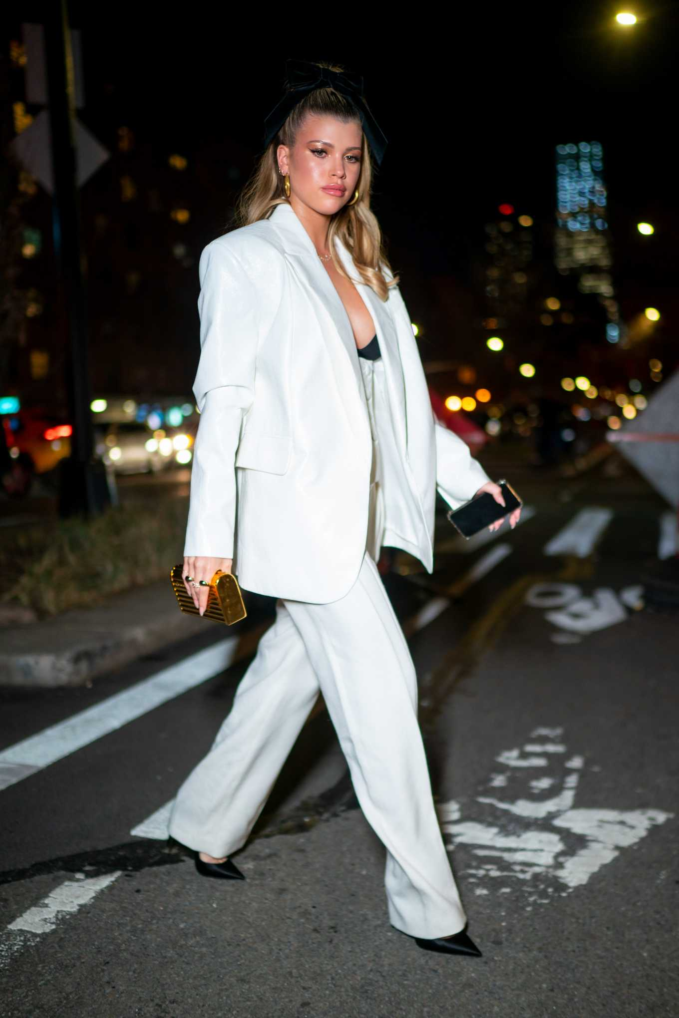 Sofia Richie 2020 : Sofia Richie steps out for dinner in New York City-02