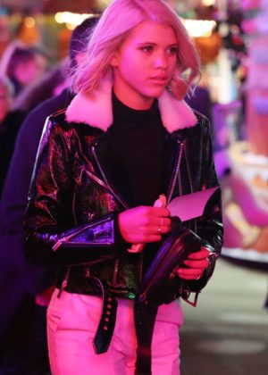 Sofia Richie - Winter Wonderland at Hyde Park in London