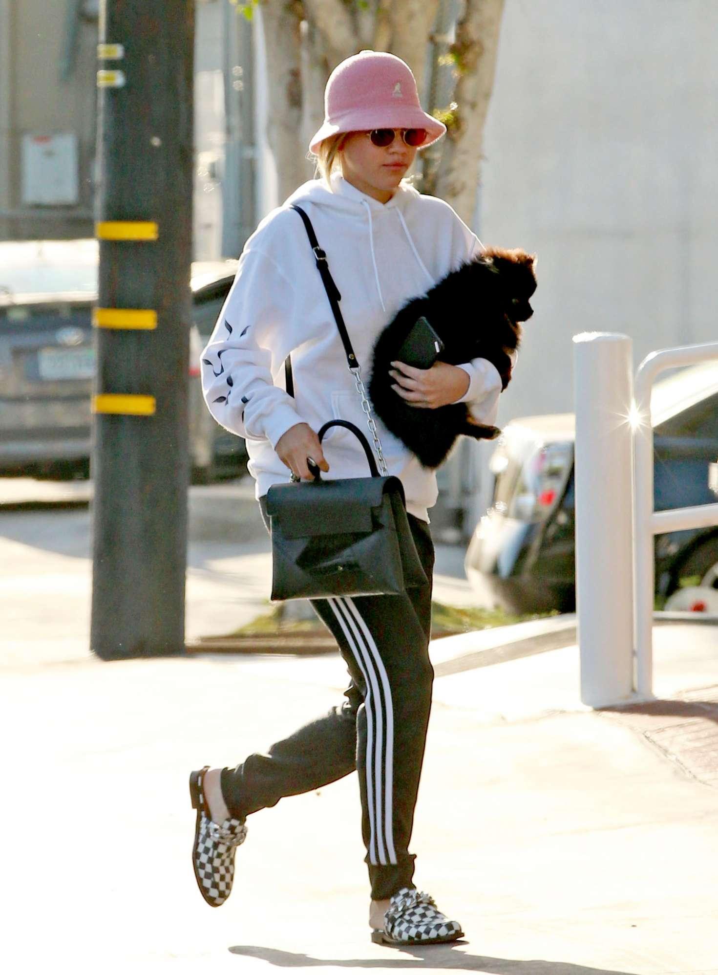 Sofia Richie 2017 : Sofia Richie With a Friend out in LA -02
