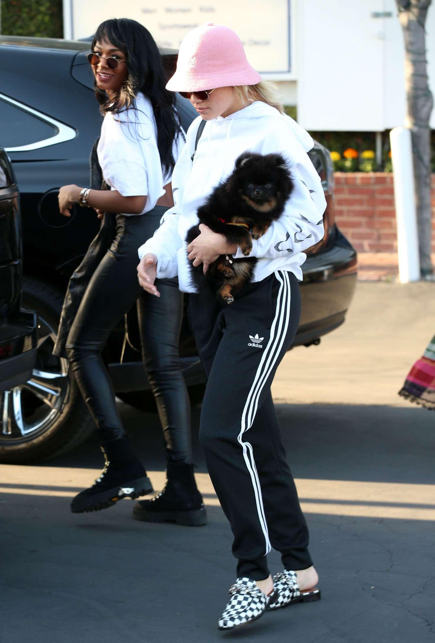 Sofia Richie 2017 : Sofia Richie With a Friend out in LA -09