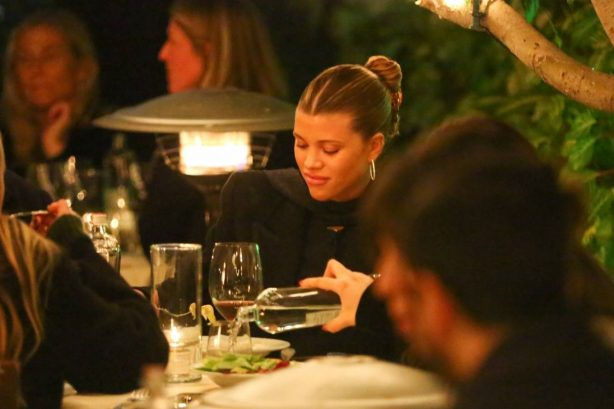 Sofia Richie - With a mystery man out in Santa Monica