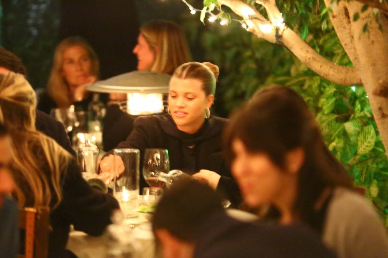 Sofia Richie 2021 : Sofia Richie – With a mystery man out in Santa Monica-02