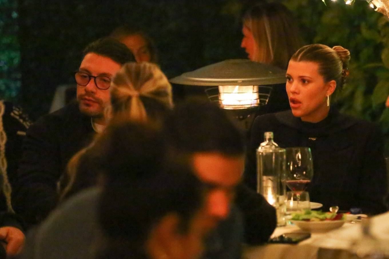 Sofia Richie 2021 : Sofia Richie – With a mystery man out in Santa Monica-03