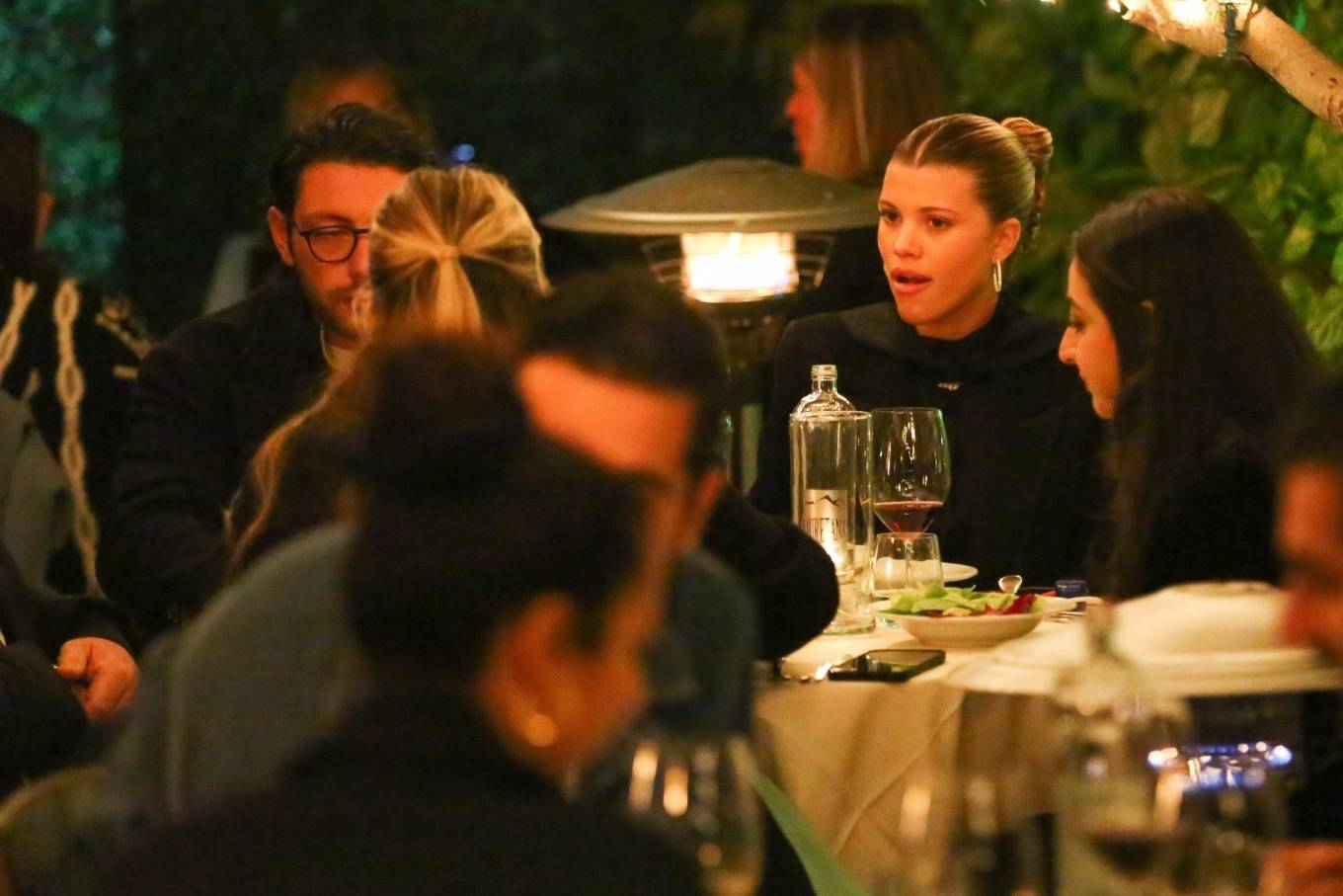 Sofia Richie 2021 : Sofia Richie – With a mystery man out in Santa Monica-05