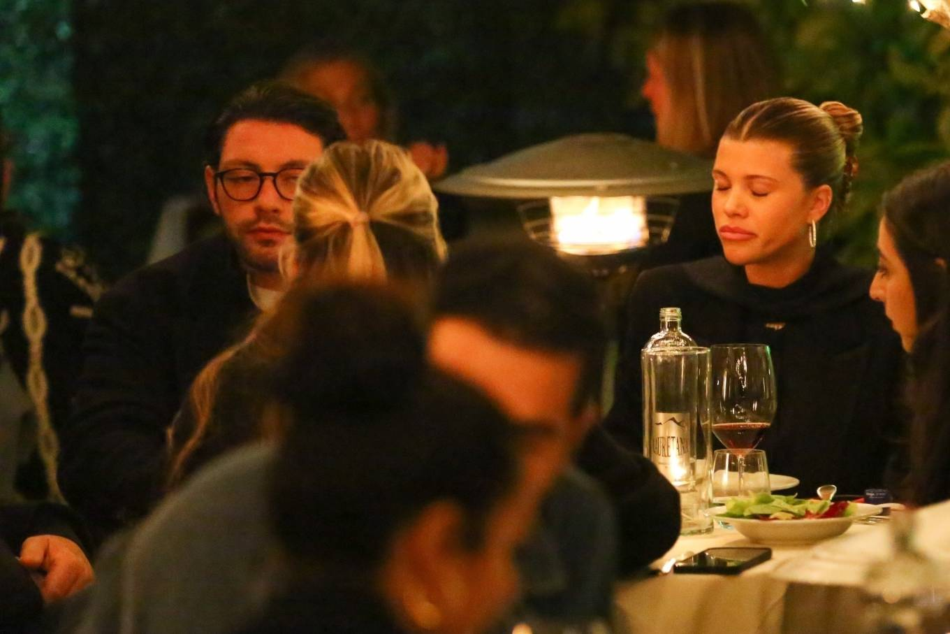 Sofia Richie 2021 : Sofia Richie – With a mystery man out in Santa Monica-07