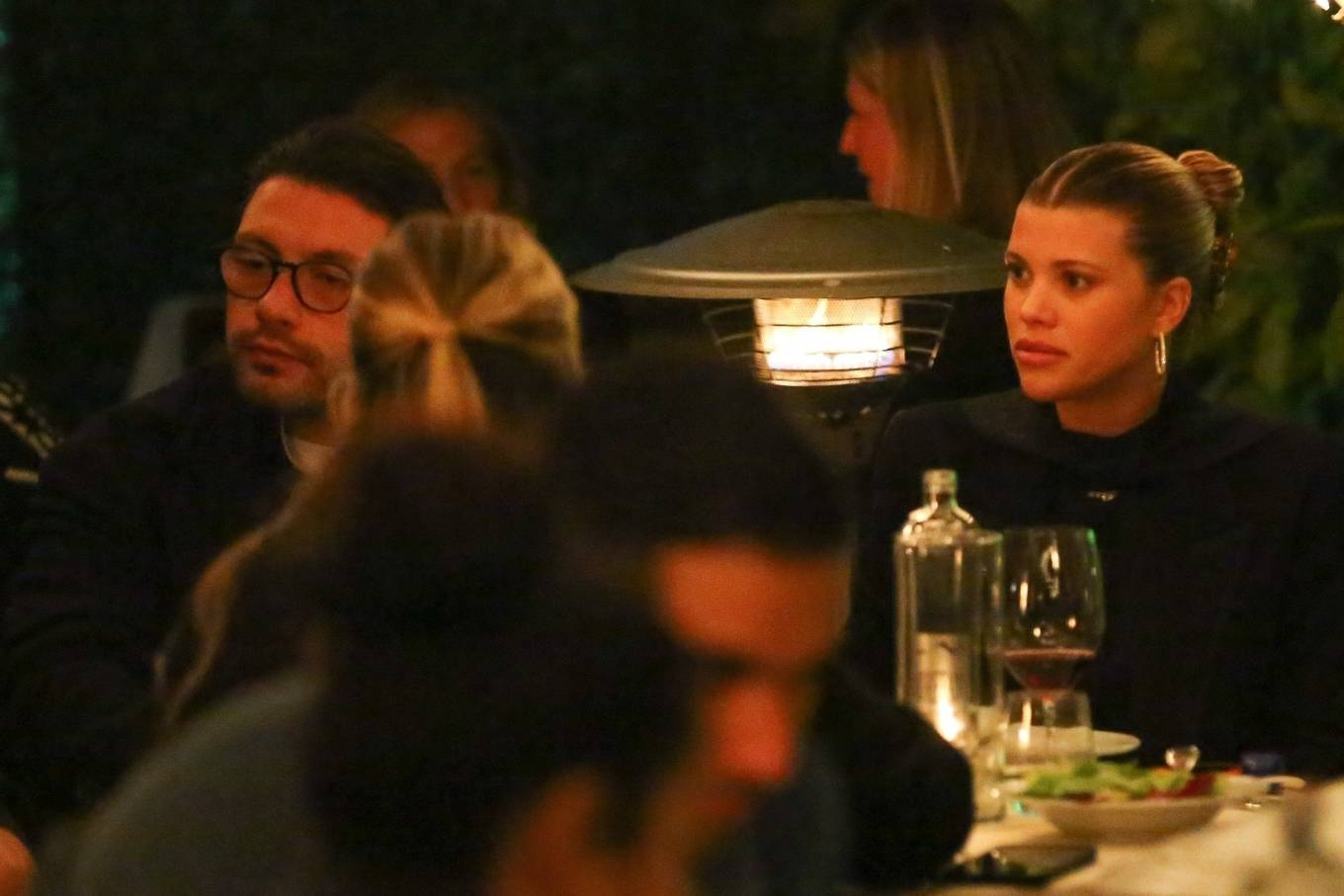 Sofia Richie 2021 : Sofia Richie – With a mystery man out in Santa Monica-08