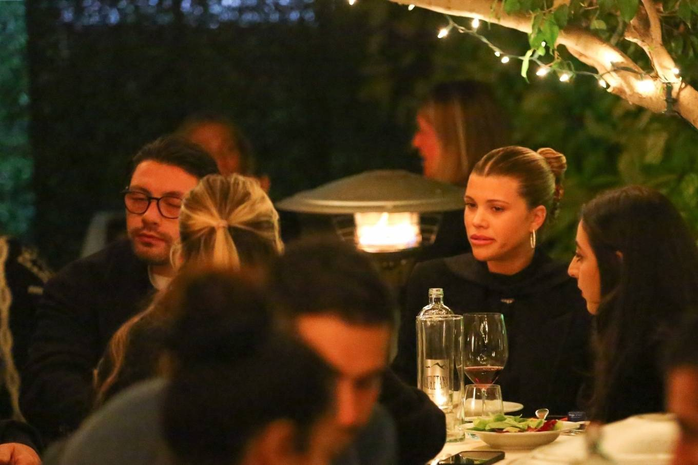 Sofia Richie 2021 : Sofia Richie – With a mystery man out in Santa Monica-13