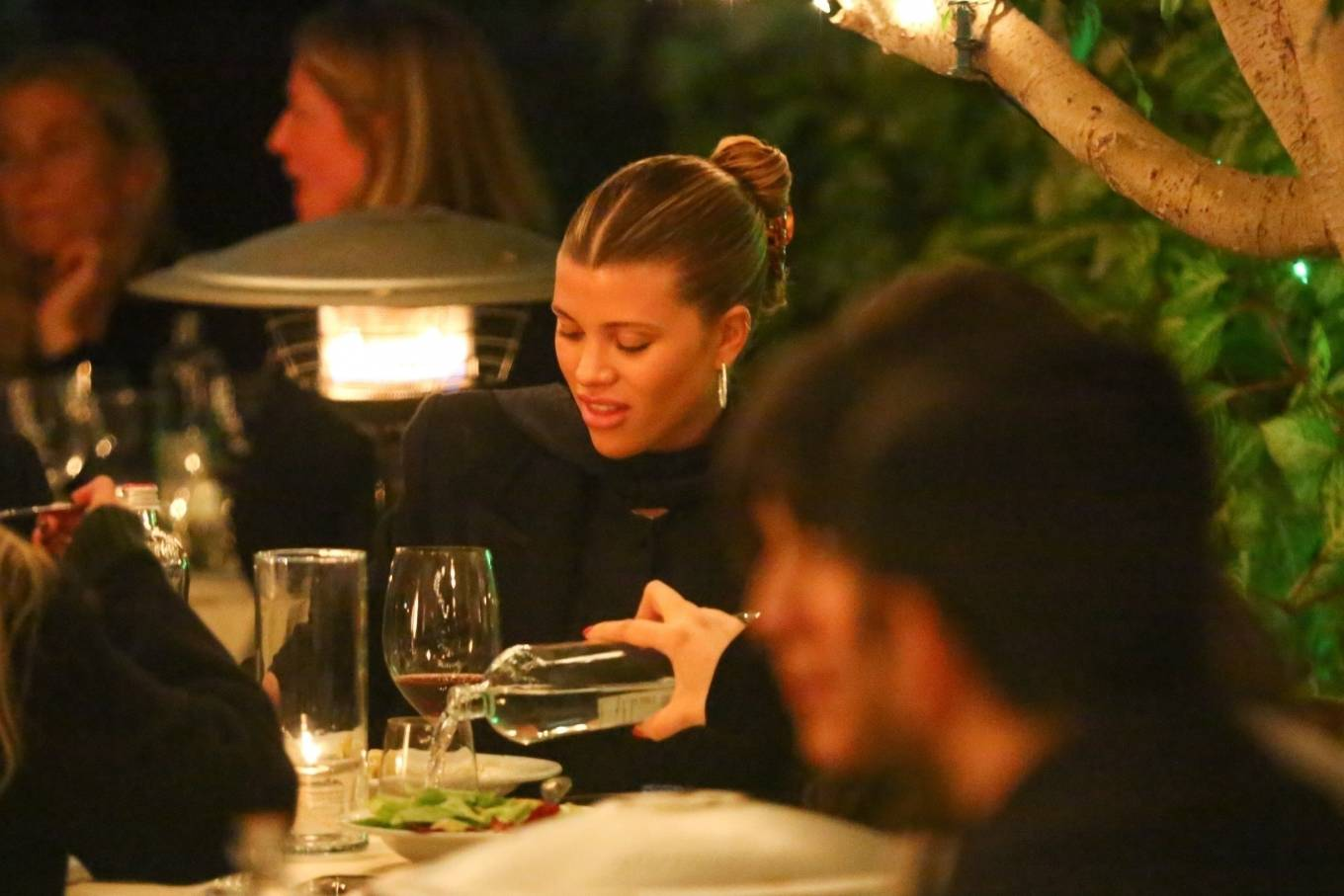 Sofia Richie 2021 : Sofia Richie – With a mystery man out in Santa Monica-14