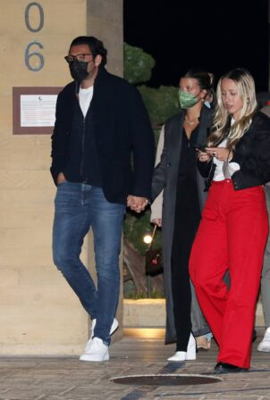 Sofia Richie - With boyfriend Elliot Grainge at Nobu in Malibu