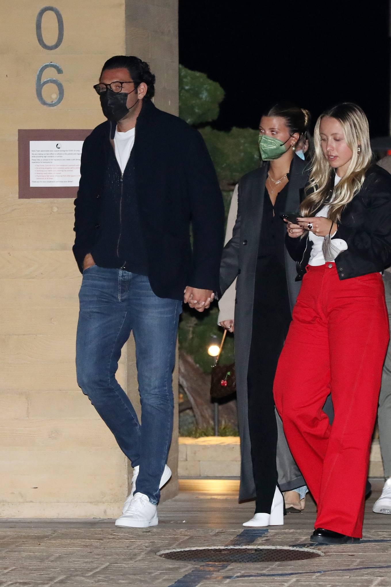 Sofia Richie - With boyfriend Elliot Grainge at Nobu in Malibu