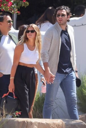 Sofia Richie - With boyfriend Elliot Grainge at Taverna Tony in Malibu