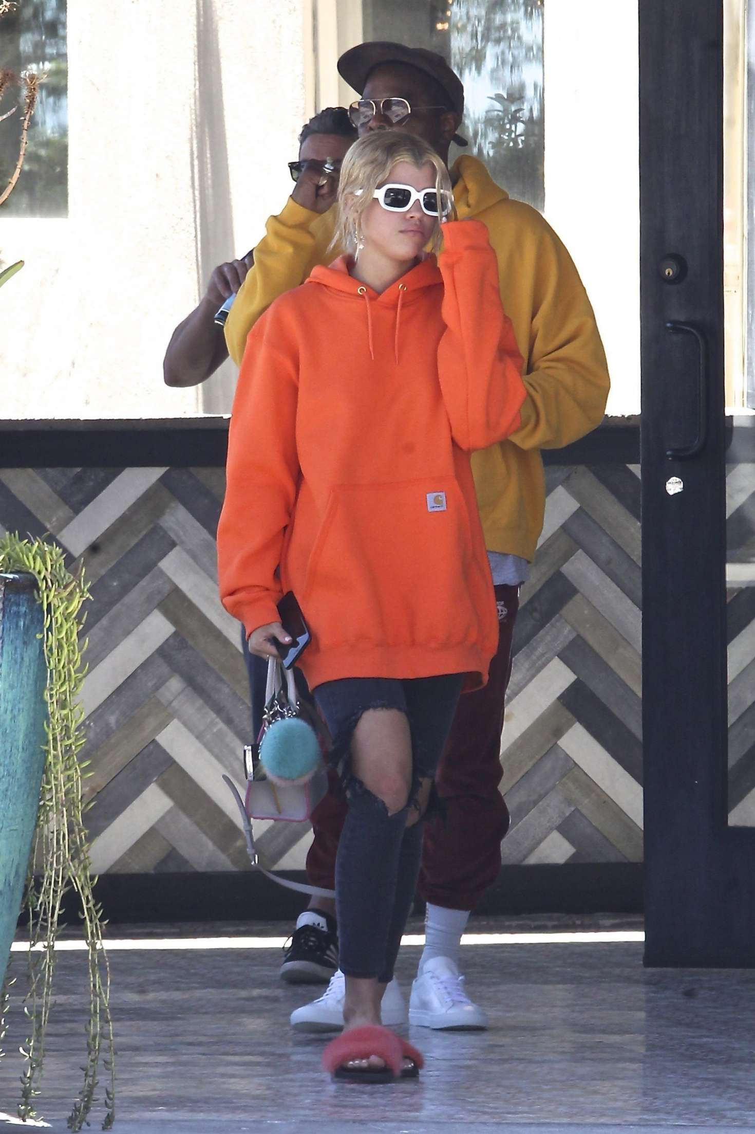 Sofia Richie 2017 : Sofia Richie with friends out in Beverly Hills -15