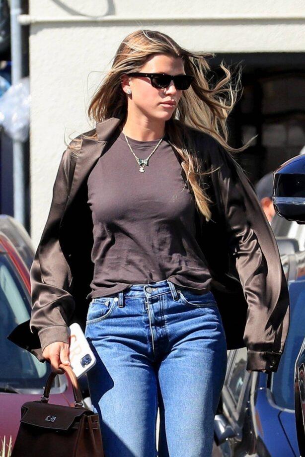 Sofia Richie - With her boyfriend Elliott Grange at Matsuhisa in Beverly Hills