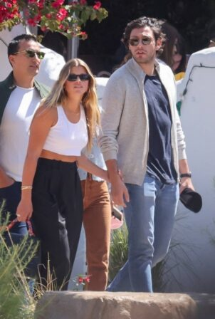Sofia Richie - With her boyfriend out for a lunch date at Taverna Tony in Malibu