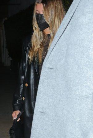 Sofia Richie - With Jaden Smith leaving a romantic date in Santa Monica