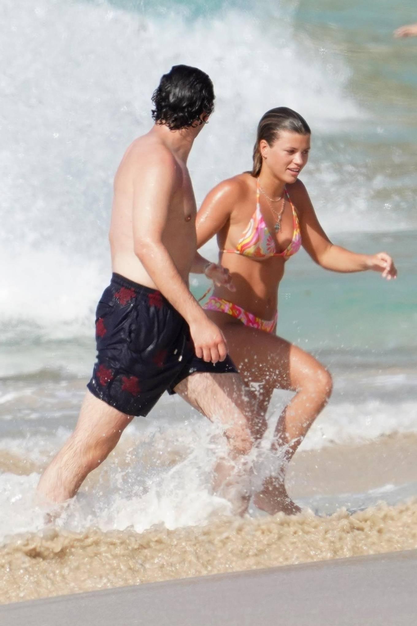 Sofia Richie 2021 : Sofia Richie – With new boyfriend Elliot Grainge in St Barts-06