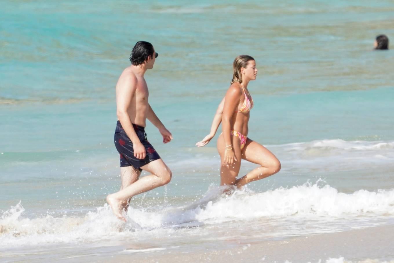 Sofia Richie 2021 : Sofia Richie – With new boyfriend Elliot Grainge in St Barts-08