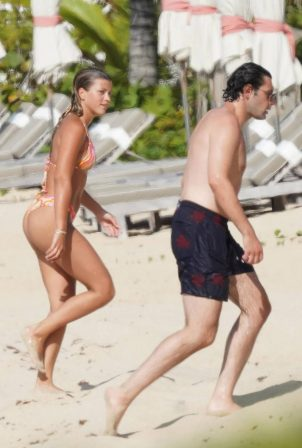 Sofia Richie - With new boyfriend Elliot Grainge in St Barts