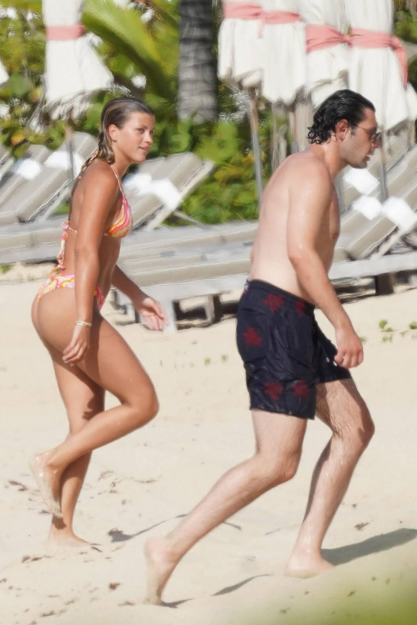Sofia Richie - With new boyfriend Elliot Grainge in St Barts