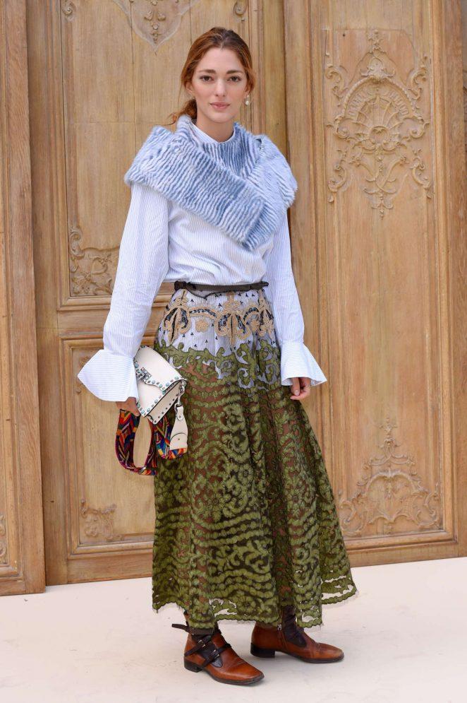 Sofia Sanchez de Betak - Valentino Fashion Show SS17 in Paris