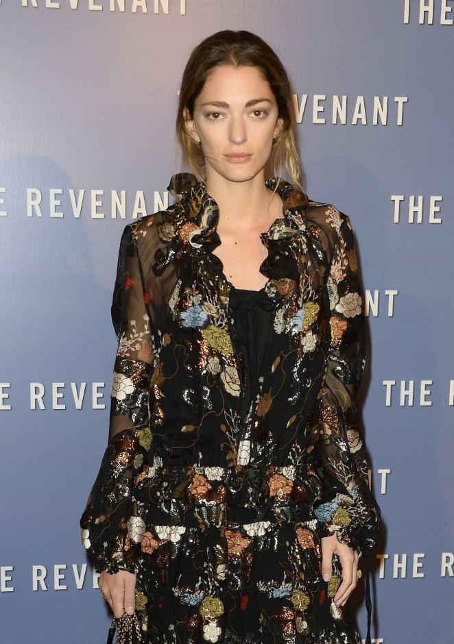 Sofia Sanchez - 'The Revenant' Premiere in Paris