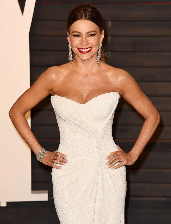 Sofia Vergara - 2016 Vanity Fair Oscar Party in Beverly Hills
