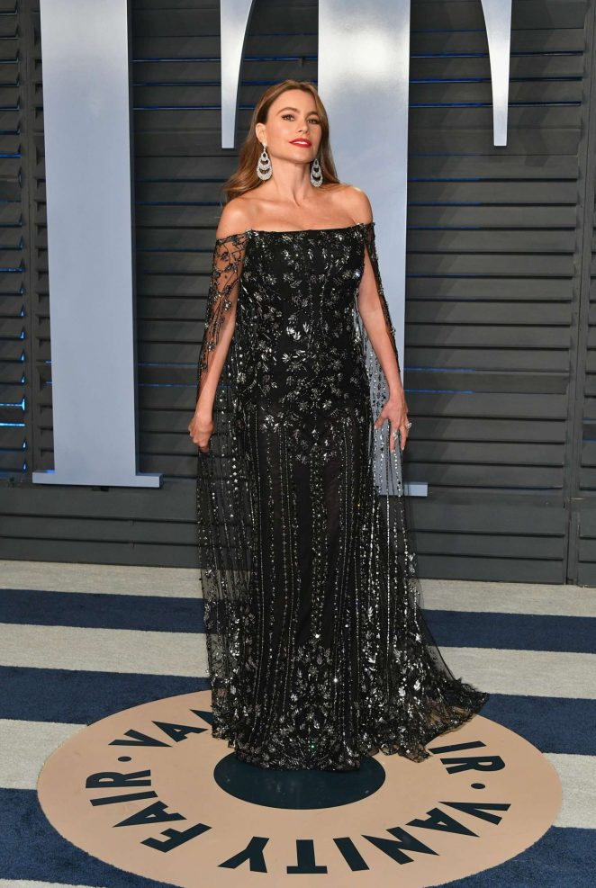 Sofia Vergara - 2018 Vanity Fair Oscar Party in Hollywood