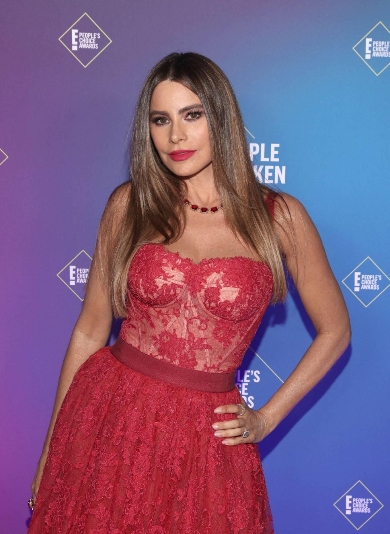 Sofia Vergara - 2020 E! People's Choice Awards in Santa Monica