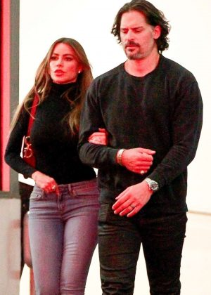 Sofia Vergara and Joe Manganiello - Out in Beverly Hills