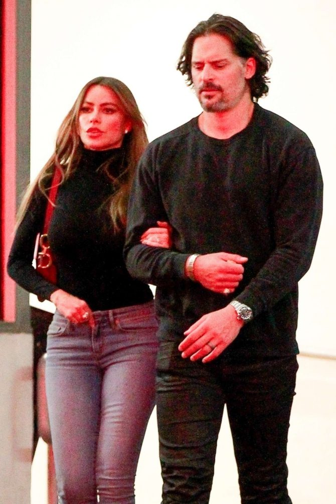 Sofia Vergara and Joe Manganiello – Out in Beverly Hills