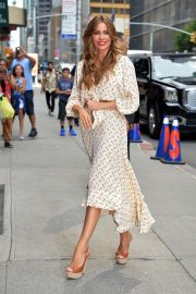 Sofia Vergara - Arrived at the 'The Late Show' in New York City