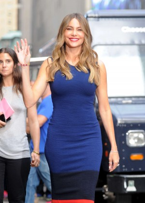Sofia Vergara at 'Good Morning America' in NYC