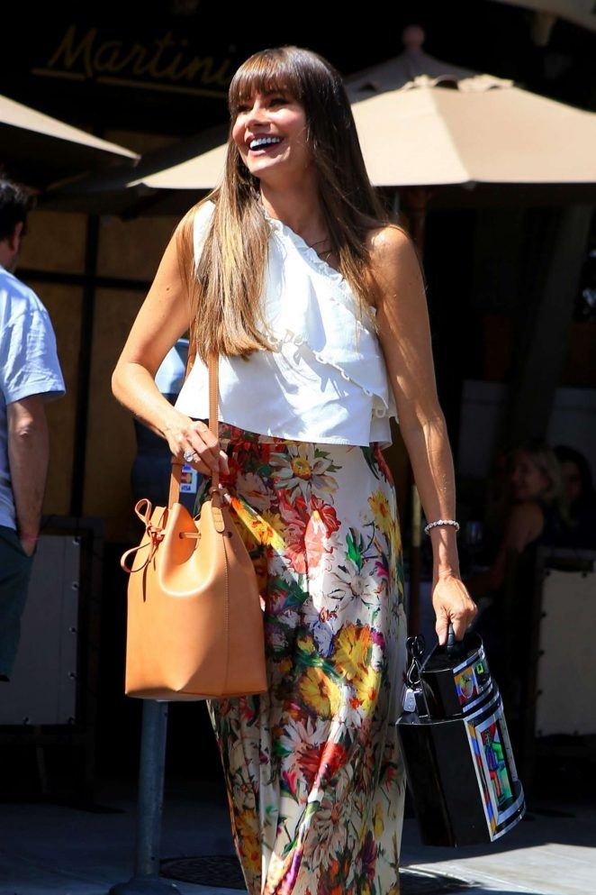 Sofia Vergara at Il Pastai in Beverly Hills