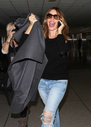Sofia Vergara at LAX Airport in Los Angeles