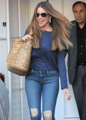 Sofia Vergara at the Epione Cosmetic Laser Center in Beverly Hills