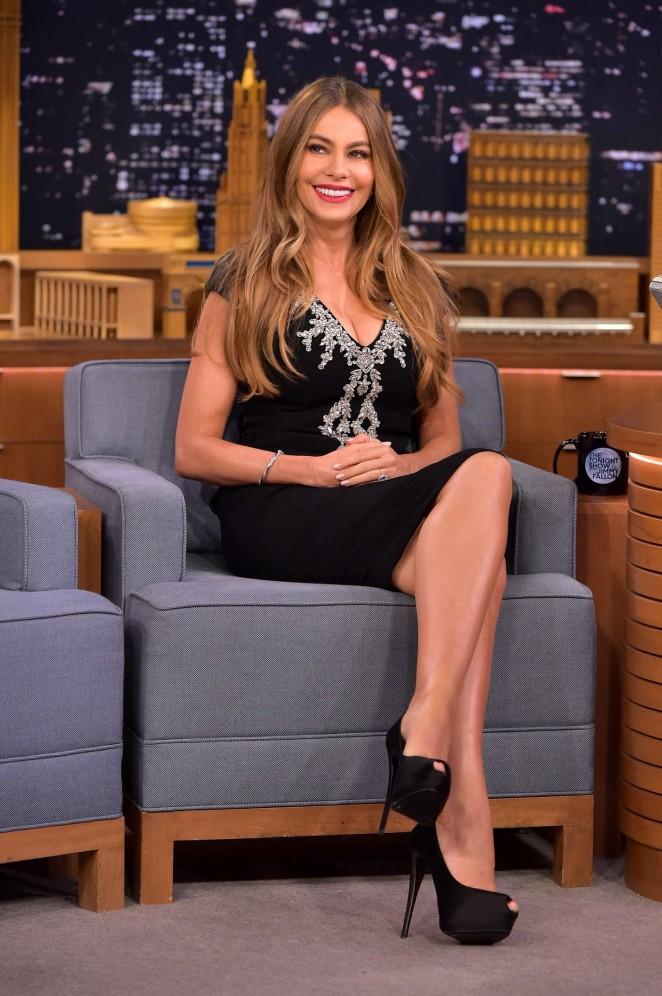 """Sofia Vergara at """"The Tonight Show with Jimmy Fallon"""" in NY"""