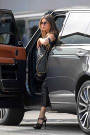 Sofia Vergara - By the Beverly Hills Police Department in Los Angeles