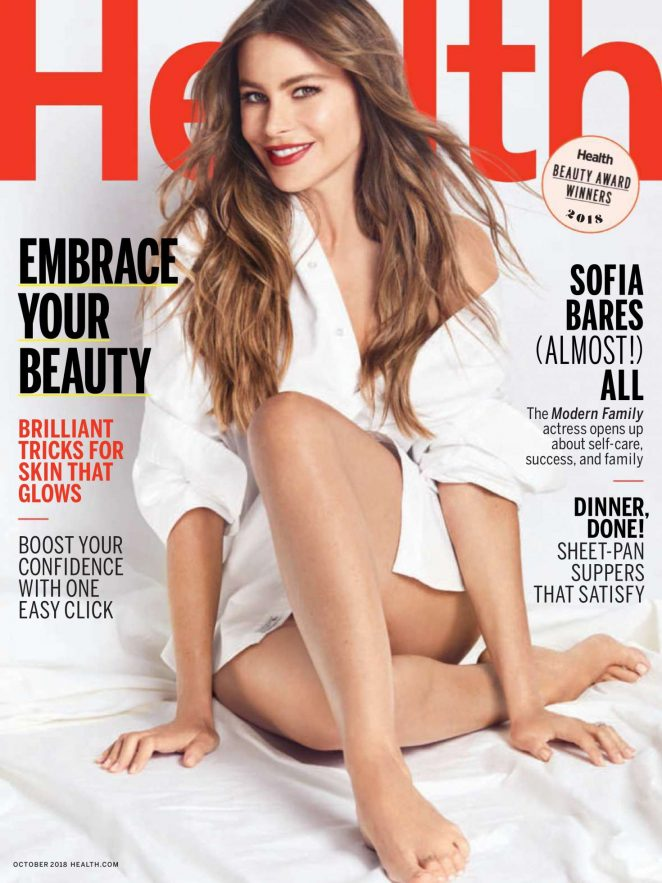 Sofia Vergara for Health Magazine (October 2018)