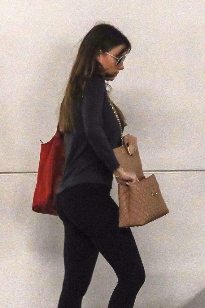 Sofia Vergara - Heading into a cryotherapy session in Santa Monica