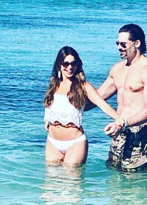 Sofia Vergara in Bikini - Social Media Pics
