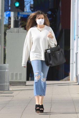 Sofia Vergara - In denim out in Beverly Hills