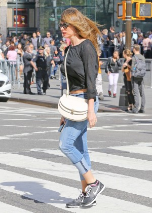 Sofia Vergara in Jeans out in NYC