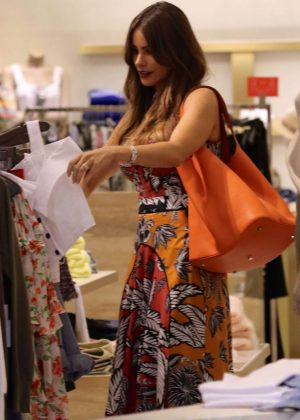 Sofia Vergara Summer Dress 10 Shopping Bal Harbour