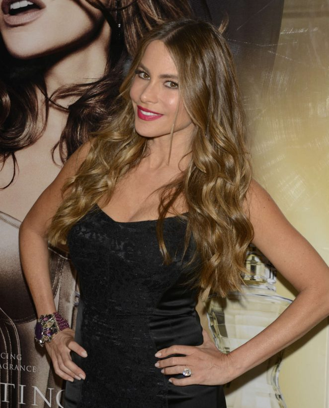 Sofia Vergara – Launch Of 'Tempting By Sofia Vergara' Fragrance in West Hollywood