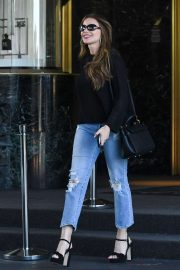 Sofia Vergara - Leaves Sax On Fifth Ave in Los Angeles