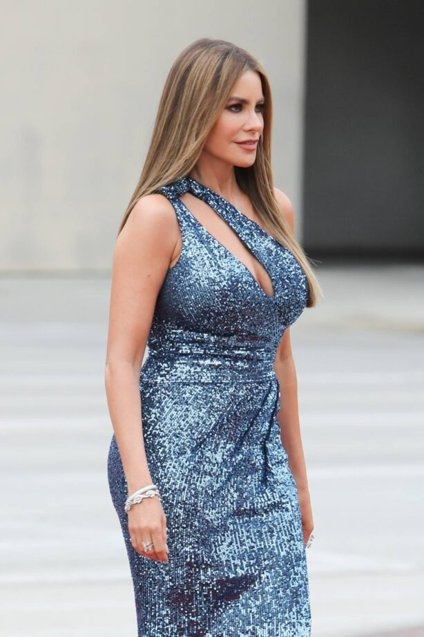 Sofia Vergara - On the set of America's Got Talent in Los Angeles