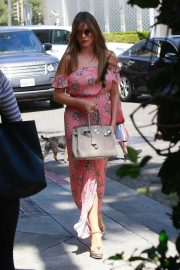 Sofia Vergara - Out for lunch at Il Pastaio in Beverly Hills