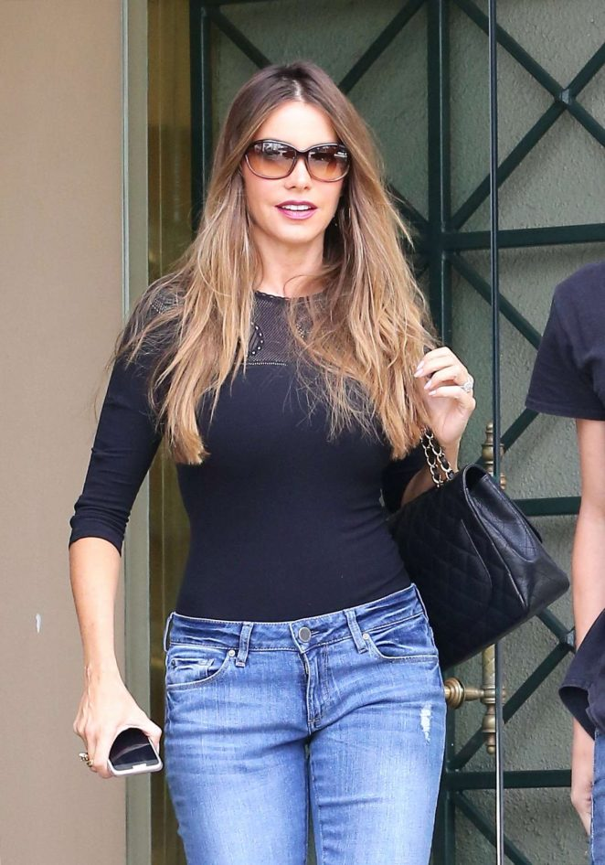 Sofia Vergara Shopping at Mayfair House in West Hollywood