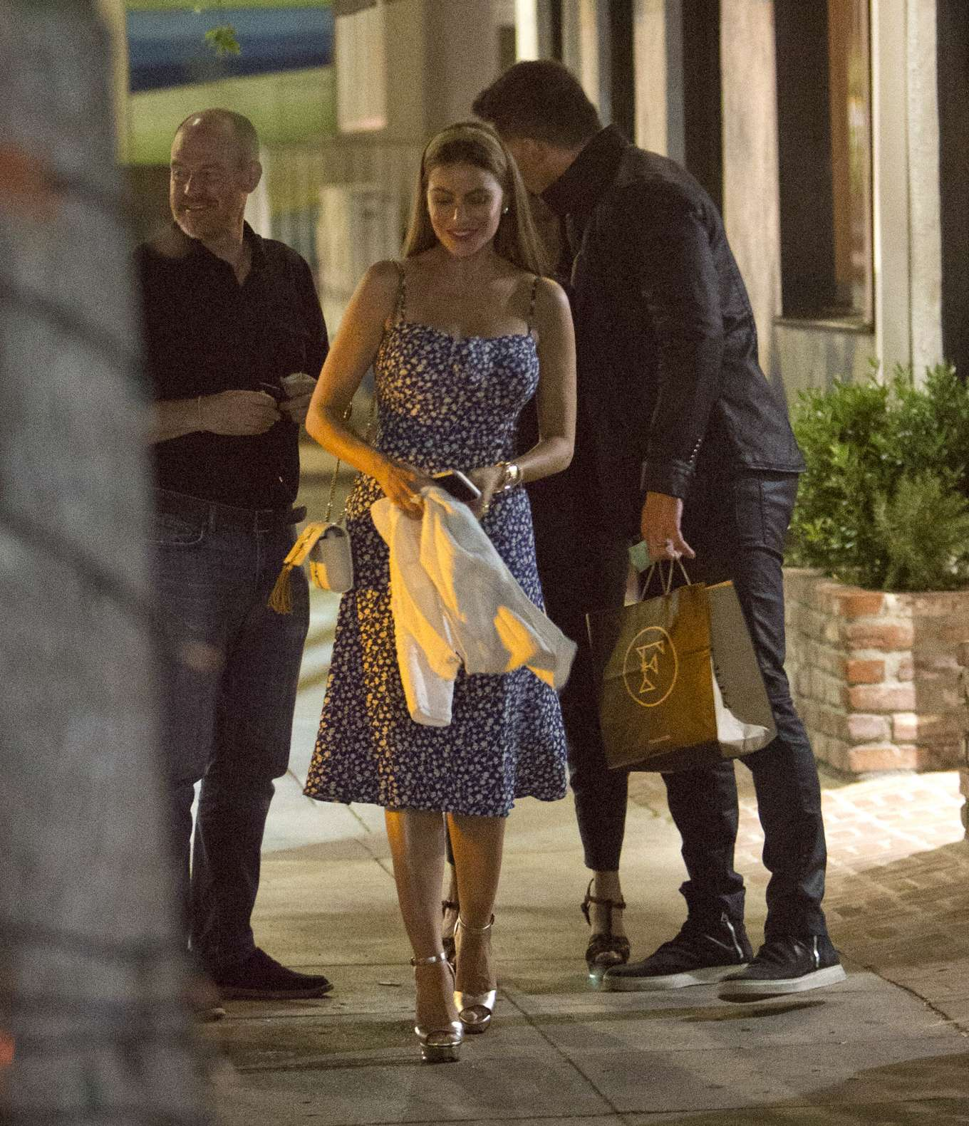 Sofia Vergara - Spotted at Felix Restaurant in Venice
