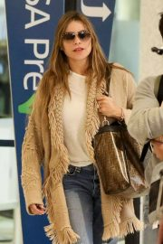 Sofia Vergara - Spotted at LAX Airport in Los Angeles